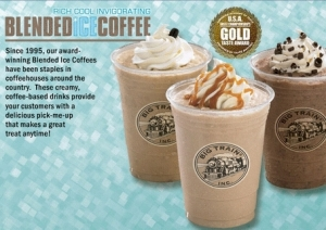 Blended Ice Coffee Flavors